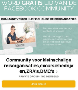 FB Community afbeelding