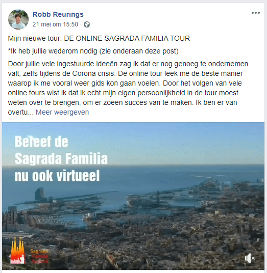 Sagrada Familia Online Tour Robb Reurings